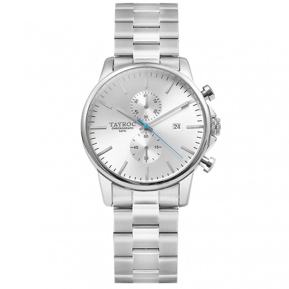 Tayroc Txm112 Silver Chronograph Men's Watch