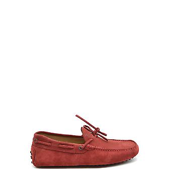 Tod's Ezbc025068 Men's Red Suede Loafers