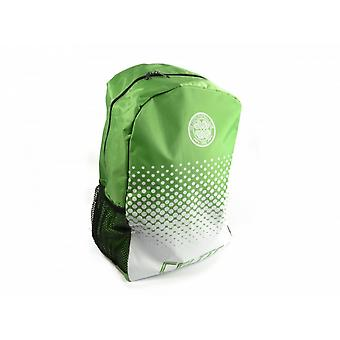Celtic FC Official Football Fade Design Backpack/Rucksack