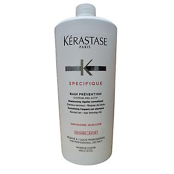 Kerastase SPECIFIQUE bain Prevention Shampooing cheveux normaux amincissement risque 33,8 OZ