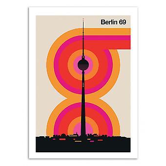 Pôster de Arte - Berlim 69 - Bo Lundberg