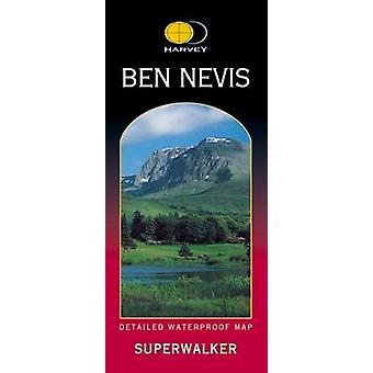 Ben Nevis XT25 by Harvey Map Services Ltd. - 9781851374021 Book