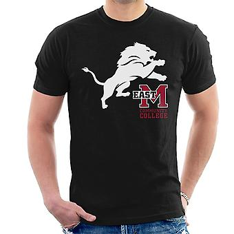 East Mississippi Community College Lion And Logo Men's T-Shirt