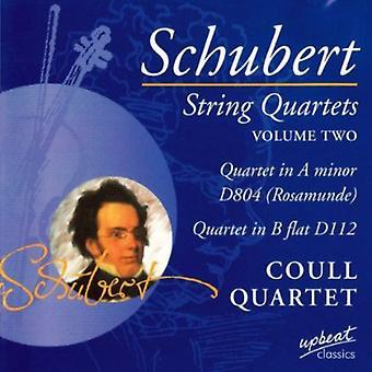 Franz Schubert - Schubert: Streichquartette, Bandquartette, Vol. 2 [CD] USA import