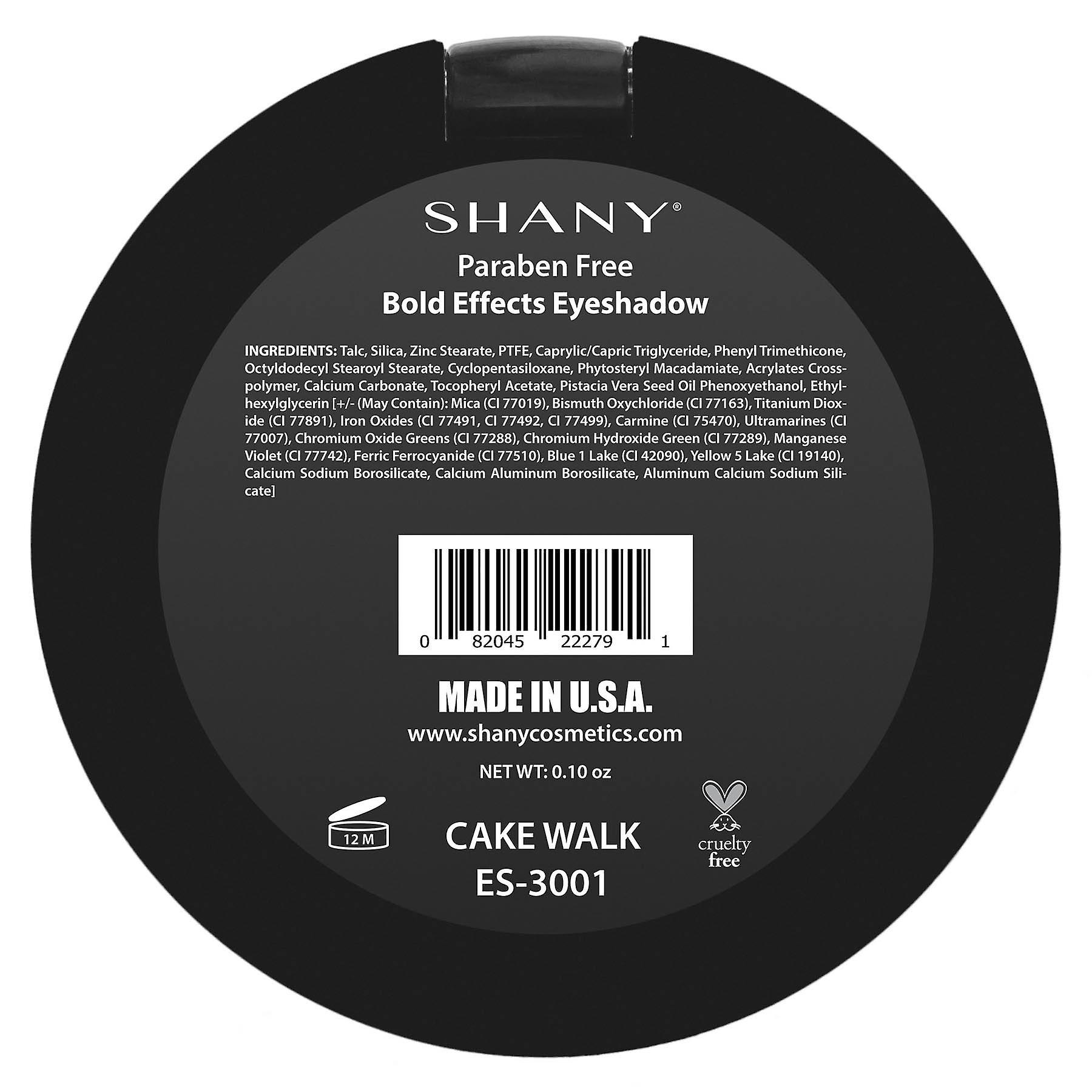SHANY Matte Eyeshadow - Paraben Free - Fabriqué aux États-Unis