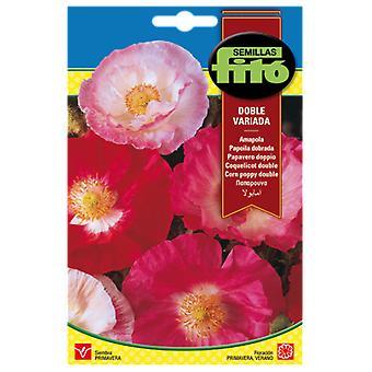Semillas Fitó Poppy double variety (Garden , Gardening , Seeds)