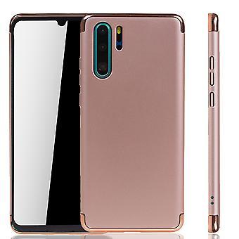 Huawei P30 Pro telefoon geval bescherming geval bumper harde kaft roze