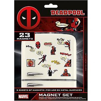 Deadpool Kühlschrank Magnet Set