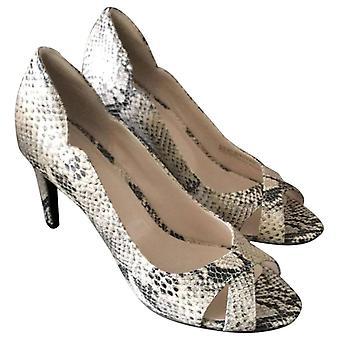 Cole Haan Womens Jacinda Leather Peep Toe Classic Pumps