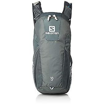 SALOMON L40414400 - Running/Hiking Backpack 10 l Trail 10 Unisex Adult - Green/Grey (Urban Chic/Shadow)