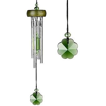 Shamrock Gem Drop Crystal CHIME Woodstock