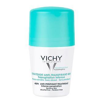 Vichy Deodorant 48 Hour Intensive Antiperspirant Roll On 50ml