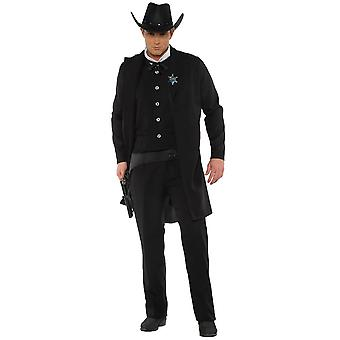 Men Wild West Sheriff Costume