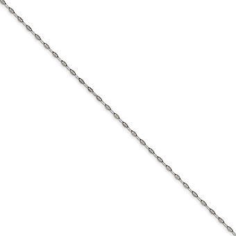 Edelstahl poliert Fancy Link Kette Halskette Schmuck Geschenke für Frauen - Länge: 16 bis 24