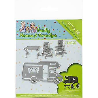 Find It Trading Yvonne Creations Die-Camper, Funky Nanna's