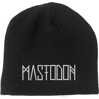 Mastodon Beanie Hat Band Logo Emperor of Sand new Official Black
