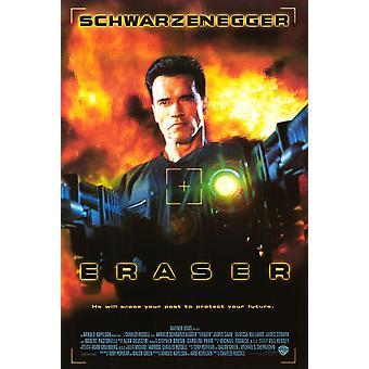 Eraser (kansainvälinen) (1996) alkuperäinen elokuva juliste