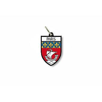 Tür Schlüssel Schlüssel Flagge Sammlung Stadt Wappen paris ile de France