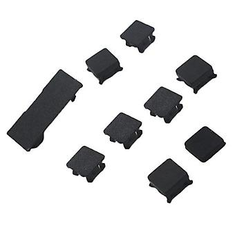 Replacement plastic screw covers and feet for sony ps3 slim console playstation 3