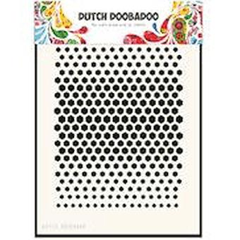 Dutch Doobadoo A5 Mask Stencil - Honeycomb 715.122