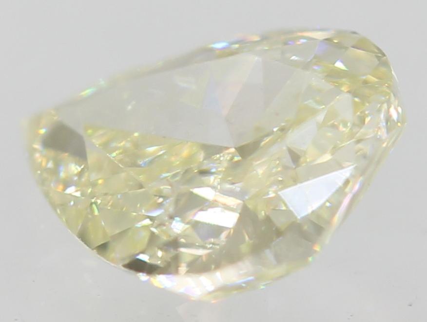 Certified 0.40 Carat I Color VS1 Pear Shape Natural Loose Diamond 5.75x4.52m 2VG
