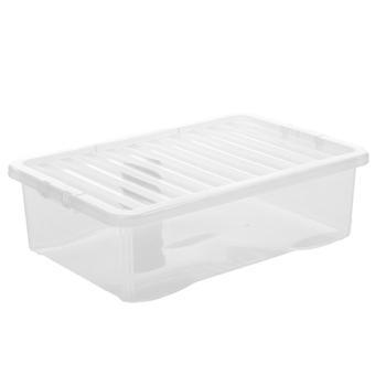 Wham Storage Pallet Deal X 100 - 32 Litre Under Bed Boxes With Lids