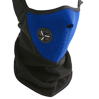 Neoprene Half Mask-Blue