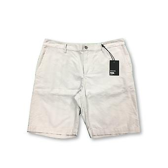 PAIGE Thompson shorts in grey/beige pindot