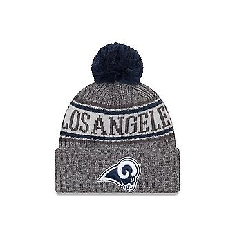 Nowa era Nfl Los Angeles Rams Sideline Graphite Sport Knit