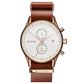 MVMT MV01-RGNA2 Voyager rosewood men´s 42mm 10ATM