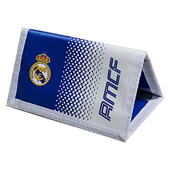 Real Madrid CF Official Football Crest Fade Wallet