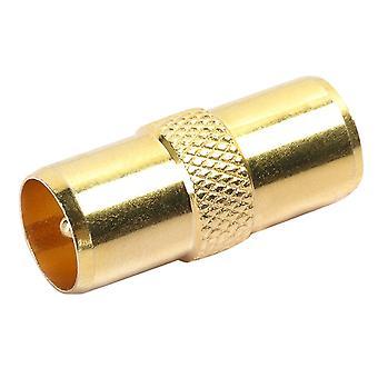 Digiflex TV-antenne RF-coaxkabel leiden adapter Male-Male