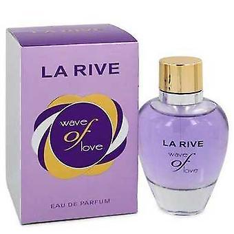 La Rive Wave van liefde door La Rive Eau de parfum spray 3 oz (vrouwen) V728-548393