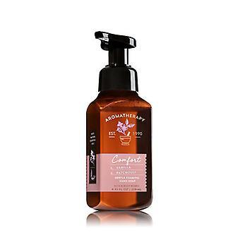 Baie & Body Works Comfort Vanilla & Patchouli Gentle Foaming Hand Soap 8.75 fl oz / 259 ml ( 2 Lot )