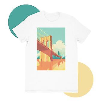 Brooklyn bridge t-paita