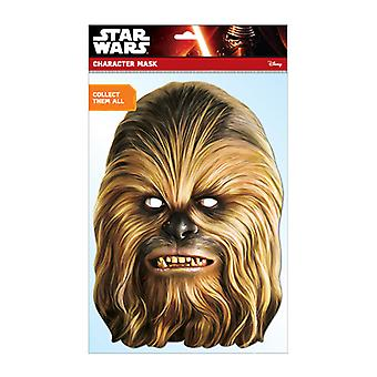 Chewbacca Official Star Wars Card Party Fancy Dress Mask