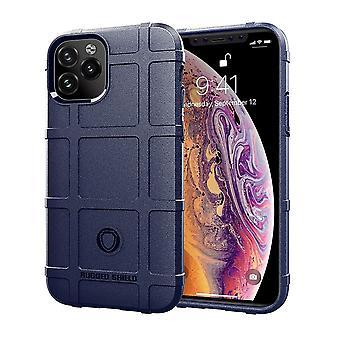 For iPhone 11 tilfelle, beskyttende støtsikker robust TPU deksel, blå