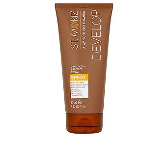 St. Moriz Advanced Pro Formula Gradual Tan & Protect Cream Spf30 175 M Unisex