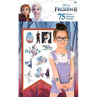 Standard Tattoo Tasche 75ct - Disney - Frozen 2 Briefpapier Neu tt2104