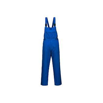 Portwest chemical resistant workwear bib e brace cr12