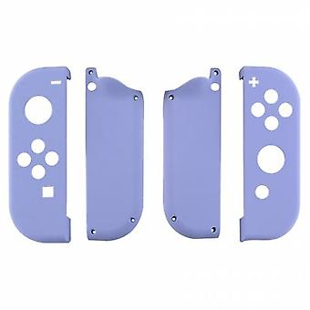 Housing shell for nintendo switch joy-con controller hard casing replacement soft touch - light purple | zedlabz