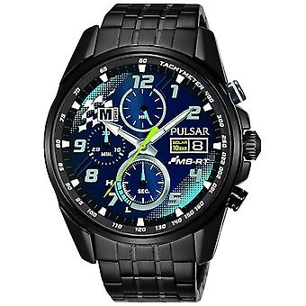 Press active Solar Analog Man watch with PZ6037X2 stainless steel bracelet