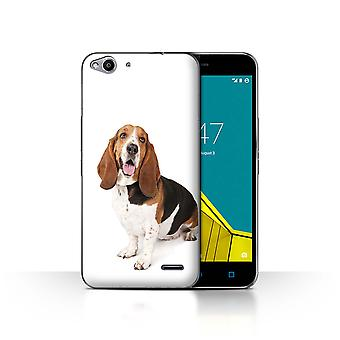 STUFF4 Case/Cover for Vodafone Smart Ultra 6/Basset Hound/Dog Breeds