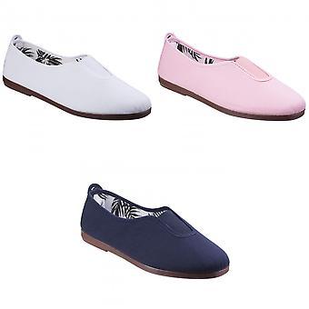 Flossy naisten/Ladies Califa kankaalle slip kenkä