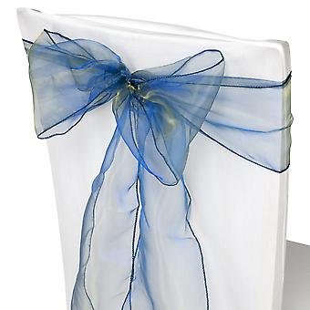 17cm x 274cm Organza Table Runners Wider et Fuller Sashes Hunter Green