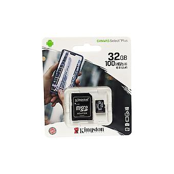 Kingston Canvas Select Plus microSD 32GB Card with Adapter