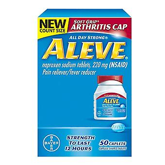 Aleve pain reliever & fever reducer, 220 mg, caplets, 50 ea