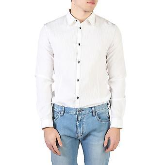 Armani Jeans Original Men Spring/Summer Shirt White Color - 58023