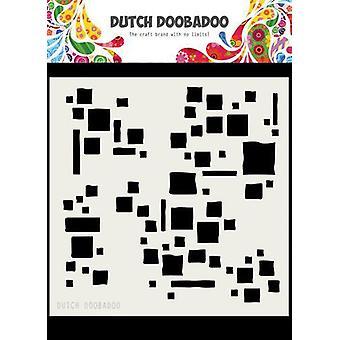 Néerlandais Doobadoo Dutch Mask Art 15x15cm Carrés 470.715.615