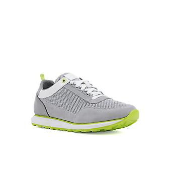 Geox Mens U Volto C Lace Up Trainer